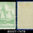 1934 USA UNUSED Scott# 747 – 8c Zion, Utah – 1934 National Parks Issue