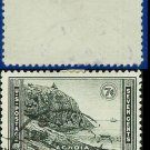 1934 USA USED Scott# 746 – 7c Acadia, Maine – 1934 National Parks Issue