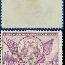 1935 USA USED Scott# 775 – 3c Mich State Seal – 1935 Commemoratives