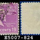 1938 USA USED Scott# 824 – 19c R Hayes – 1938 Presidential Series