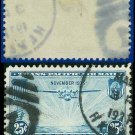 1935 USA USED Scott# C20 –25c China Clipper – Trans-Pacific Air Mail Issue