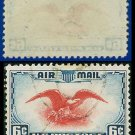 1938 USA USED Scott# C23 – 6c Red Eagle – Air Mail Stamp
