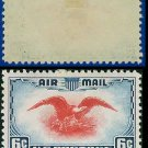 1938 USA UNUSED Scott# C23 – 6c Red Eagle – Air Mail Stamp