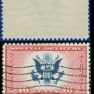 1936 USA USED CE2 – 16c Red & Blue Airmail Special Delivery Stamp