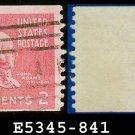 1938 USA USED Scott# 841 – 2c John Adams – 1938 Presidential Rotary Coil Series