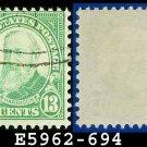 1931 USA USED Scott# 694 – 13c Harrison – 1931 Rotary Print Regular Issue