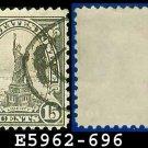 1931 USA USED Scott# 696 – 15c Statue of Liberty – 1931 Rotary Print Regular Issue