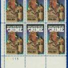 1984 USA MNH Sc# 2102 Plate# Blk of Six – 20c McGruff, The Crime Dog – 1984 Commemoratives E5592