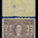 1904 USA UNUSED Scott# 325 – 3c Monroe – 1904 Louisiana Purchase Issue