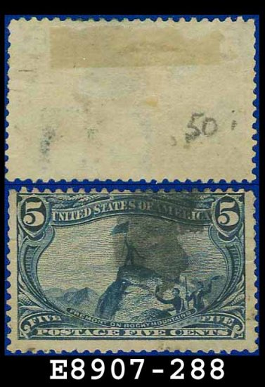 1898 USA USED Scott# 288 � 5c Fremont on the Rocky Mountains � Trans-Mississippi Series