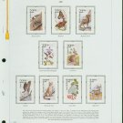 USA MH Sc# 2286 – 2335 - 50 - 22c American Wildlife Stamps Hinge Mounted on WA Pages – E2703