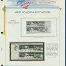 1971 USA MNH Scott# 1434, 35 - Mr. Zip Blocks of 4 Stamps mounted on a White Ace Page - E2703