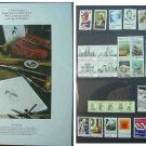1980 USPS Commemorative Album with complete set of Unused stamps E5186