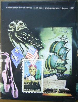 1978 USPS Commemorative Album with complete set of MNH stamps E3097