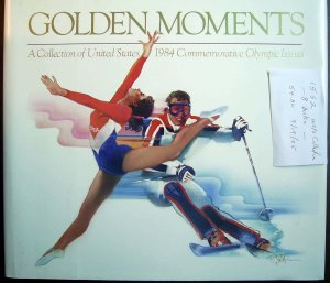 USPS Commemorative Album 1984 Olympic Issues with Partial SET of MNH Stamps E1552