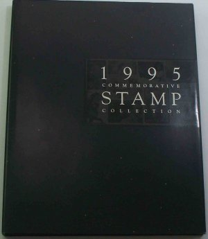 1995 USPS Commemorative Album with COMPLETE SET of UNUSED Stamps