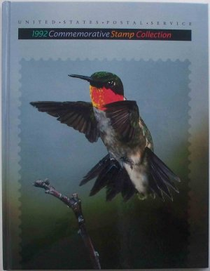 1992 USPS Commemorative Album with COMPLETE SET of MNH Stamps E0699