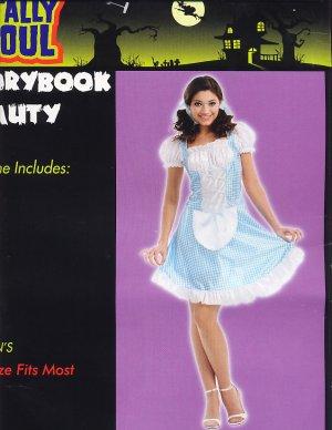 PRINCESS Storybook Beauty Halloween Costume ADULT Cute!