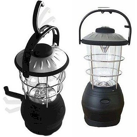 12 LED Super Bright Hand-Cranked Lantern