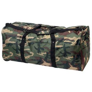 "39"" Camo Polyester Duffle Bag"