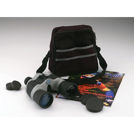 10 x 50 Black and Gray Binoculars with Case