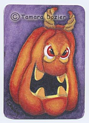 """""""Devil Pumpkin II"""""""