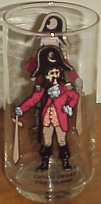 Captain Krook Mcdonald Collectors series glass capt
