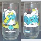 Smurfette of Smurf's Collectors Series Glass 1982 peyo
