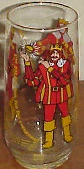 The King Collectors glass Burger King 1979