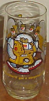 Wizard of Fries Collectors glass Burger King 1979