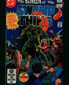 THE SAGA OF THE SWAMP THING COMIC COLLECTION