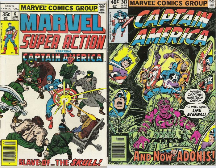 CAPT. AMERICA COMIC BOOK COLLECTION