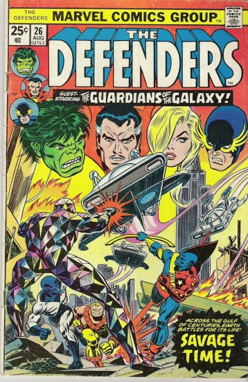 THE DEFENDERS COMIC COLLECTION