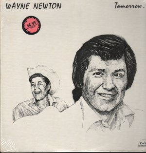 "WAYNE NEWTON ""TOMORROW..."" 1978 RES IPSA  RP751FACTORY SEALED"