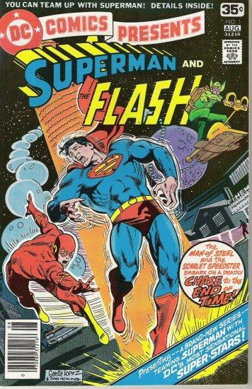 DC COMICS PRESENTS SUPERMAN AND ....