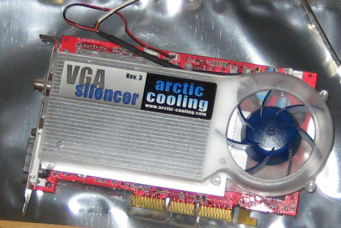 ATI All in Wonder (Radeon) 9700 AGP 8x 128MB DDR with VGA Silencer