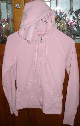 SO Pink Fleece Hoddie Jacket Jr. Med