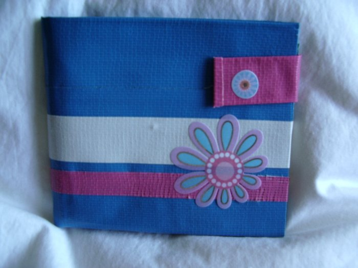 Blue Flower Wallet