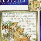 'THE WOLF ALSO SHALL' COUNTED CROSS STITCH KIT PRAYING HANDS ISAIAH 11:6