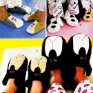 CAT, BEARS & DOG SLIPPERS 4 KIDS & ADULTS OOP MCCALL'S 3471 PATTERN MINT UNCUT