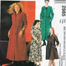26W - 50 WOMANS PETITE DRESS 2 LENGTHS EASY MCCALLS 2985 SEWING PATTERN