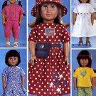 "18"" AMERICAN GIRL DOLL BAPTISMAL DRESS + BUTTERICK 3875  PATTERN UNCUT"