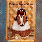 Black Americana OOP MAMMY BROOM COVER SEWING PATTERN MINT UNCUT OZARK CRAFTS 1984 AA