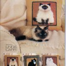 CAT PORTRAIT PLUSH PILLOWS! VOGUE 7445 PATTERN MINT UNCUT