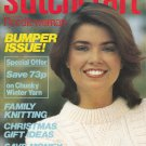 STITCHCRAFT NOVEMBER 1981 NEEDLEWORK CROCHET KNIT EMBROIDER VINTAGE MAGAZINE