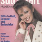 STITCHCRAFT DECEMBER 1981 CHRISTMAS CROCHET KNIT EMBROIDER VINTAGE MAGAZINE