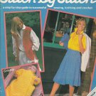 STITCH BY STITCH #1 FIRST ISSUE SEWING CROCHET KNITTING CRAFTS VINTAGE MAGAZINE