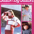 STITCH BY STITCH Part 18 SEWING CROCHET KNITTING CRAFTS VINTAGE MAGAZINE