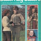 STITCH BY STITCH Part 27 SEWING CROCHET KNITTING CRAFTS VINTAGE MAGAZINE