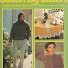 STITCH BY STITCH Part 59 SEWING CROCHET KNITTING CRAFTS VINTAGE MAGAZINE
